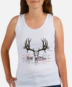 Bow hunter,deer skull Women's Tank Top