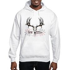 Bow hunter,deer skull Hoodie