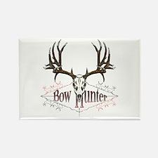 Bow hunter,deer skull Rectangle Magnet