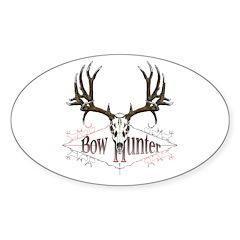 Bow hunter,deer skull Decal