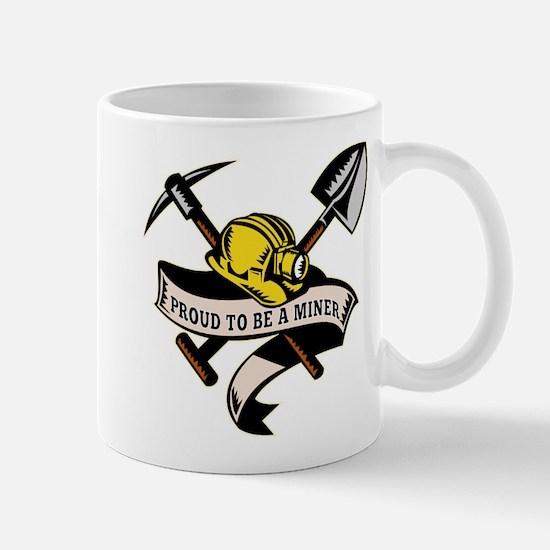 coal miner mining Mug