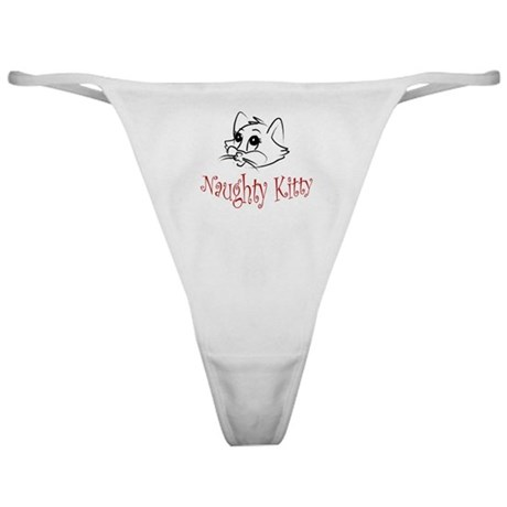 Naughty Kitty Classic Thong