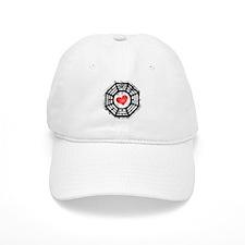 Red Heart Dharma Baseball Cap
