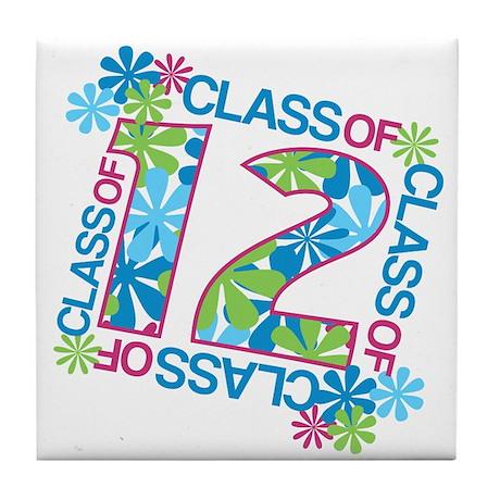 Class 2012 Blossoms Tile Coaster