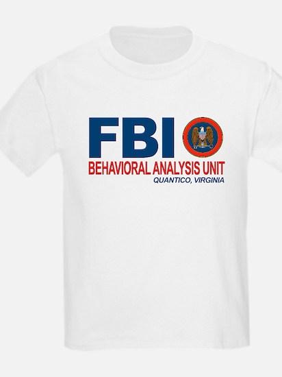 Criminal Minds FBI BAU T-Shirt