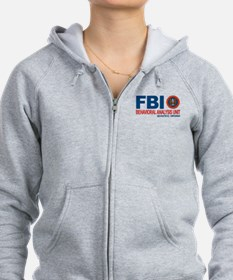 Criminal Minds FBI BAU Zipped Hoodie