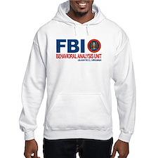 Criminal Minds FBI BAU Hoodie Sweatshirt