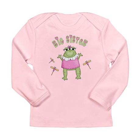 Froggy Big Sister Long Sleeve Infant T-Shirt
