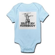 Zeus is my Homeboy Infant Bodysuit