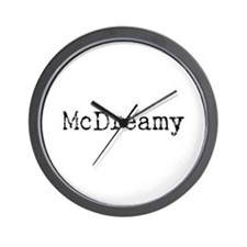 McDreamy Wall Clock
