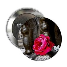 """Bodhi Tree Flower 2.25"""" Button"""
