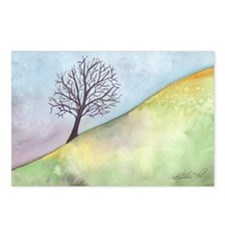 California Tree Watercolor Postcards (Package of 8