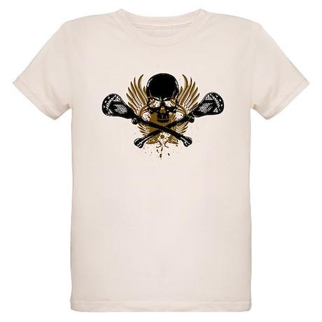 Lacrosse and Bones Organic Kids T-Shirt