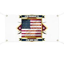 11th Michigan Banner