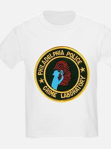 Philadelphia Police Crime Lab T-Shirt