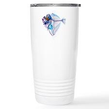Blue Fish Stainless Steel Travel Mug