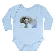 Picture 108 Negative Long Sleeve Infant Bodysuit
