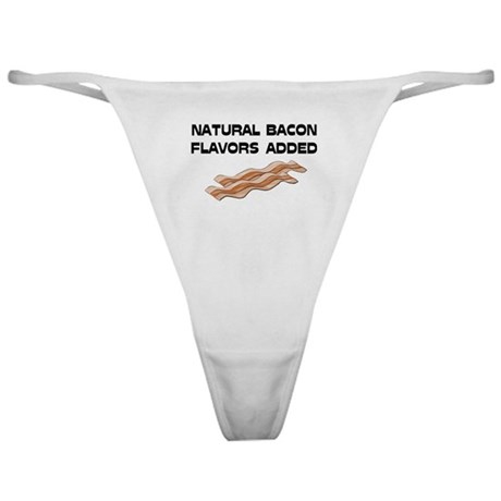 Natural Bacon Flavors Classic Thong