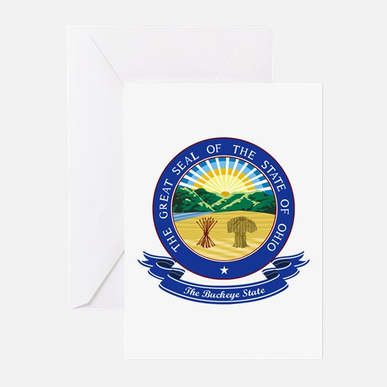 Ohio Seal Greeting Cards (Pk of 10)