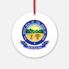 Ohio Seal Ornament (Round)