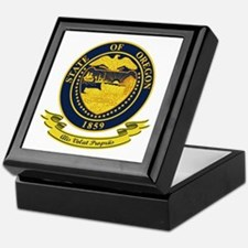 Oregon Seal Keepsake Box