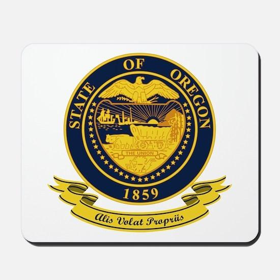 Oregon Seal Mousepad