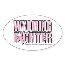 Wyoming Breast Cancer Fighter Decal