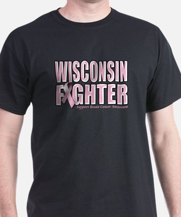 Wisconsin Breast Cancer Fighter T-Shirt