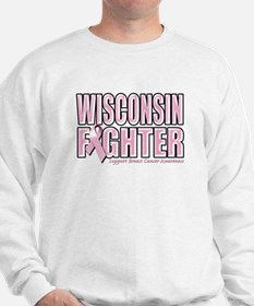 Wisconsin Breast Cancer Fighter Sweatshirt