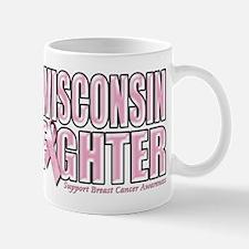 Wisconsin Breast Cancer Fighter Mug
