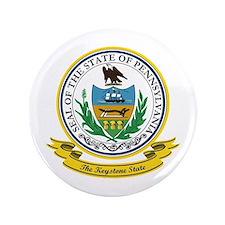 """Pennsylvania Seal 3.5"""" Button"""
