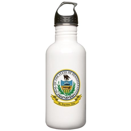 Pennsylvania Seal Stainless Water Bottle 1.0L