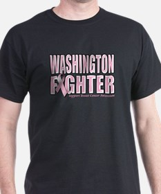 Washington Breast Cancer Fighter T-Shirt