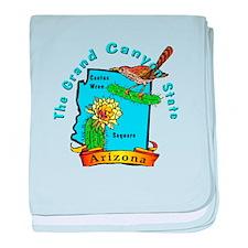 Arizona baby blanket