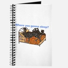 2Blks Where You Gonna Sleep Journal