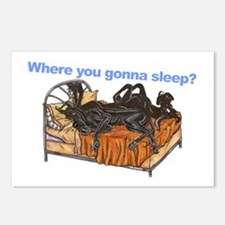 2Blks Where You Gonna Sleep Postcards (Package of