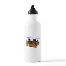 2Blks Where You Gonna Sleep Water Bottle