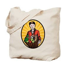 organic farmer Tote Bag