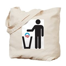 Dump Obama Tote Bag