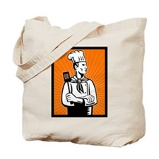 Chef cook baker Tote Bag