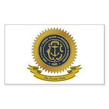 Rhode Island Seal Decal