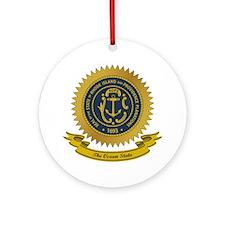 Rhode Island Seal Ornament (Round)