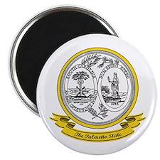 South Carolina Seal Magnet