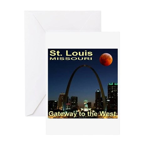 St. Louis Gateway To The West Greeting Card