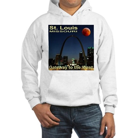 St. Louis Gateway To The West Hooded Sweatshirt