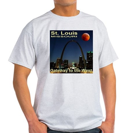 St. Louis Gateway To The West Light T-Shirt