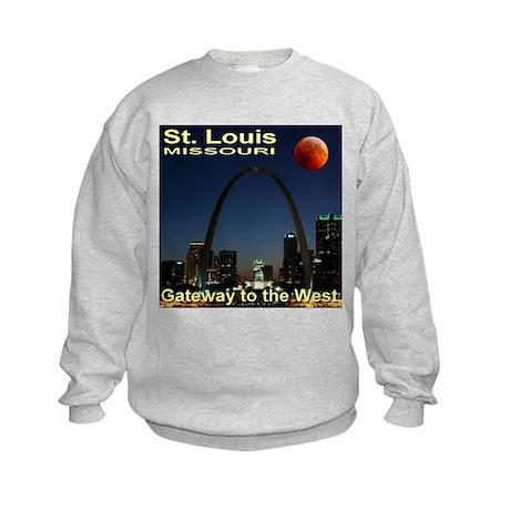 St. Louis Gateway To The West Kids Sweatshirt