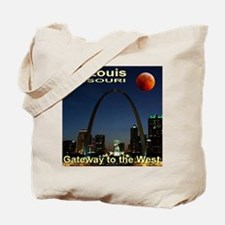 St. Louis Gateway To The West Tote Bag