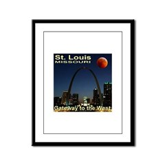 St. Louis Gateway To The West Framed Panel Print