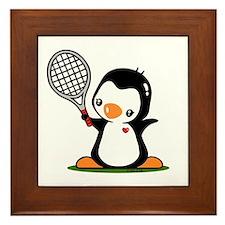 I Like Tennis Framed Tile